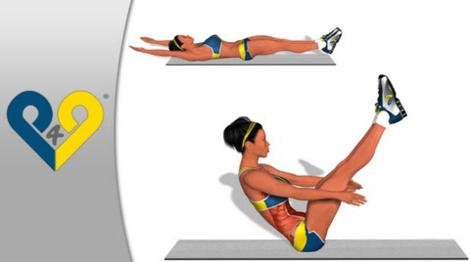 V-UPS (The best ABS exercise)