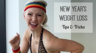 Tips to Achieve Your Weight Loss New Years Resolution Goals