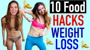 10 Food Hacks For WEIGHT LOSS