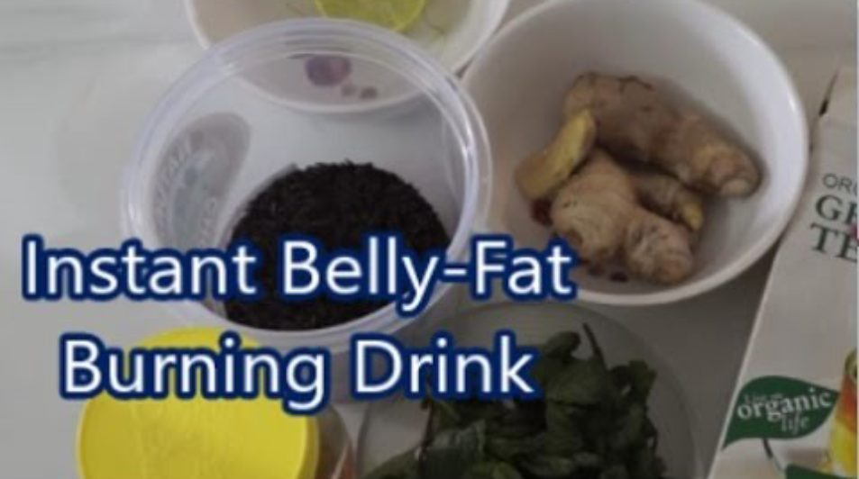 DIY Instant Belly-Fat Burner – Get a Flat Belly in 5 Days Without Diet or Exercise