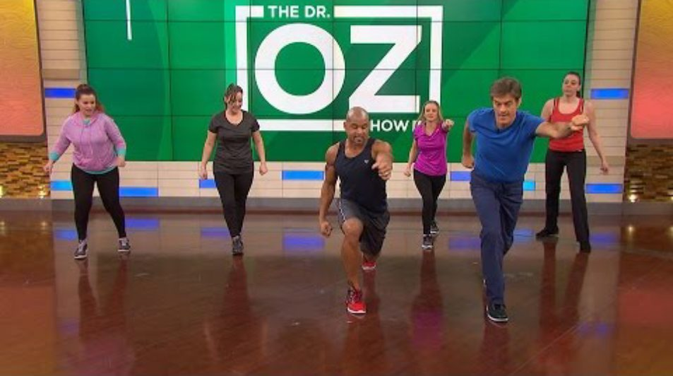 Doctor Oz – Shaun T's 5-Minute Butt-Blasting Workout