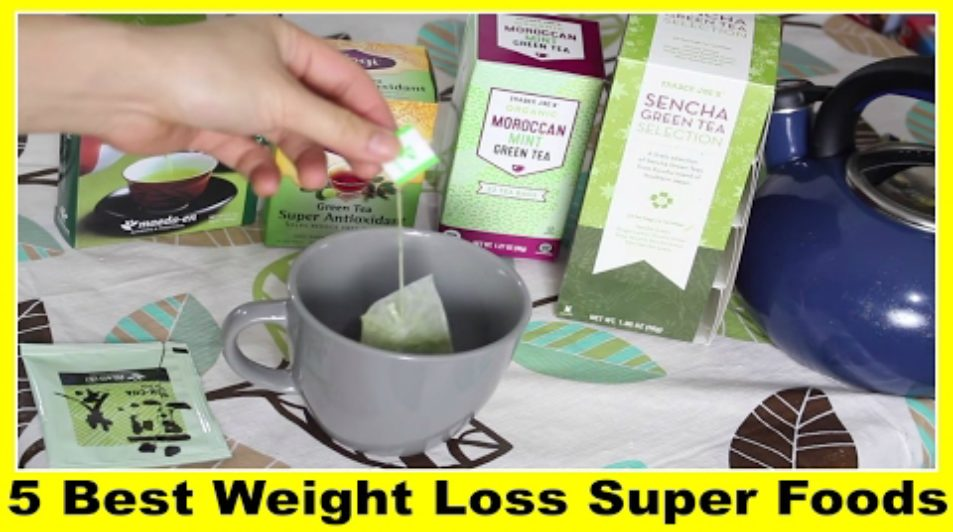 5 BEST WEIGHT LOSS SUPER FOODS!