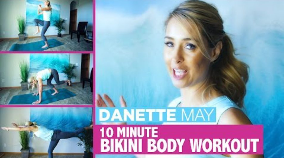 Get A Spring Bikini Body | 10 Minute Full Body Workout