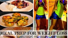 EASY MEAL PREP FOR WEIGHT LOSS: 3 Healthy & CHEAP Ideas